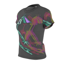 Load image into Gallery viewer, Flying Rabbit- Women's All Over Print Cut & Sew Tee