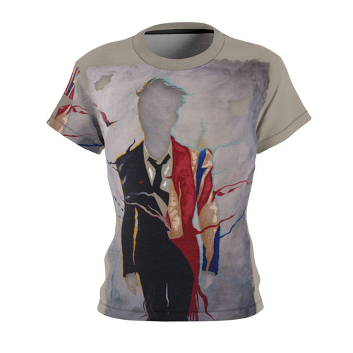 The Man Who Fell To Earth- Women's All Over Print Cut & Sew Tee