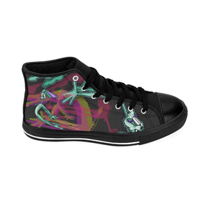 Flying Rabbit- Men's High-top Sneakers