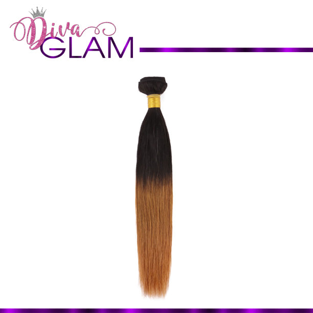 Diva Glam 1B/30 Ombre Silky Straight