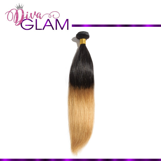 Diva Glam 1B/27 Ombre Silky Straight
