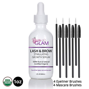 Diva Glam Lash & Brow Stimulating Growth Serum