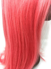 Load image into Gallery viewer, Pink Pony Lace Frontal Wig Pink, 150% Density Straight Hair