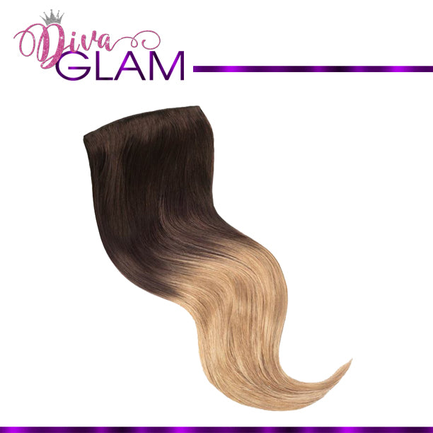 Diva Glam #2/27 Full Head Human Clip-In