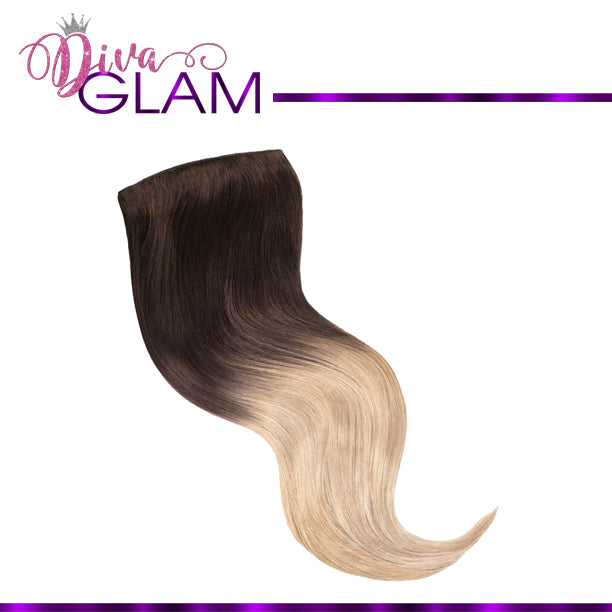 Diva Glam #2/613 Full Head Human Clip-In