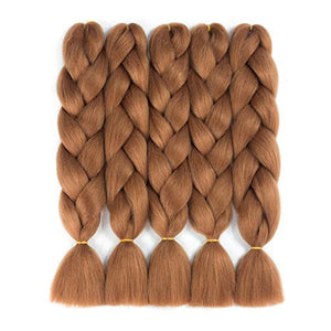 "(24"") #30 - 5 Piece Jumbo Braiding Hair"