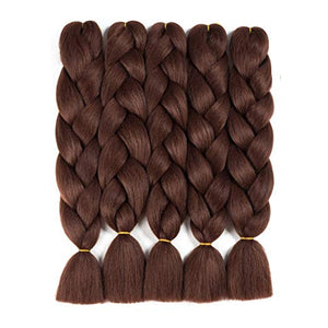 "(24"") #33 - 5 Piece Jumbo Braiding Hair"