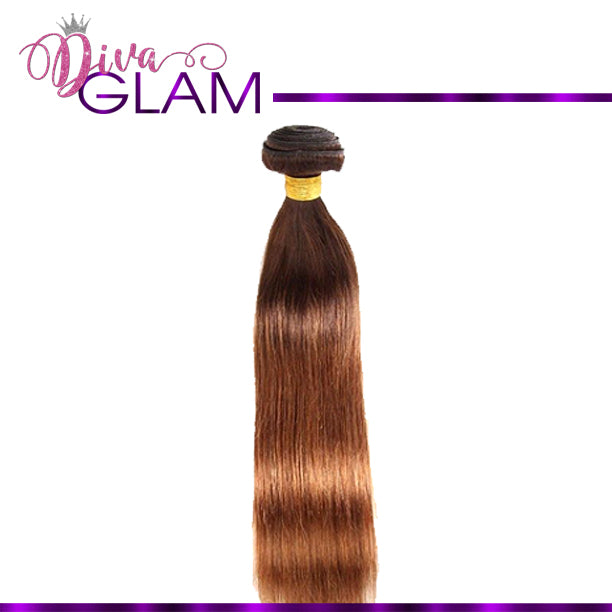Diva Glam 4/30 Ombre Silky Straight