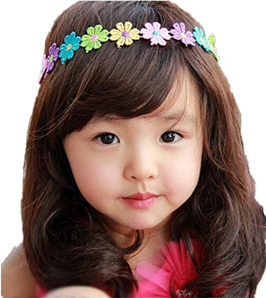Children's Long Hair Curly Wig