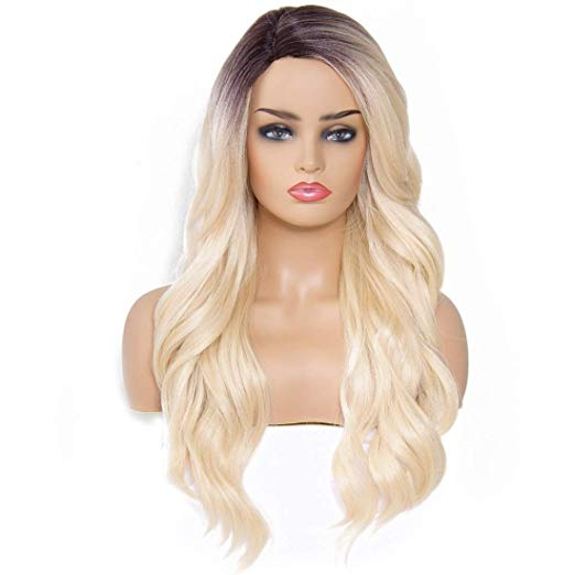 Sky Body Wave Human Blend Wig