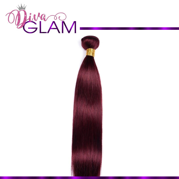 Diva Glam 99J Silky Straight Hair Bundle