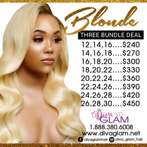 Diva Glam Blonde Bundle Deal