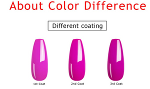 Soak Off UV Led Nail Gel Polish Kit Set of 8 Colors