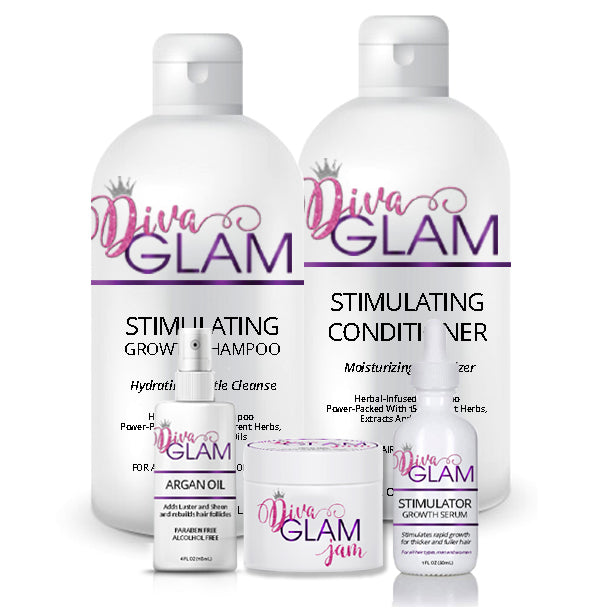 Diva Glam Mega Stimulating Hair Growth System