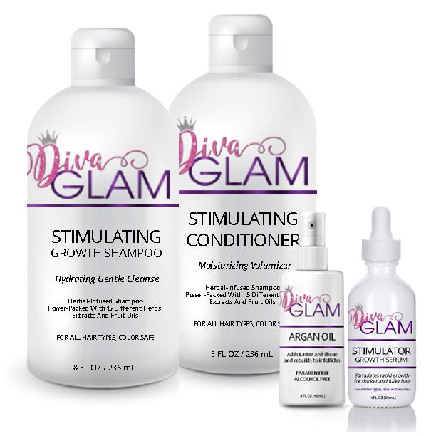 Diva Glam Ultra Stimulating Hair Growth System
