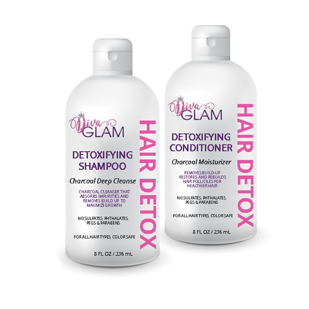 Diva Glam Detoxifying Shampoo & Conditioner