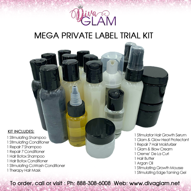 Diva Glam Mega Private Label Trial Kit