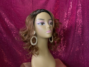 Diva Glam Tina 2 Toned Mixed Blend Wig
