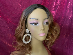 Tina 2 Toned Mixed Blend Wig