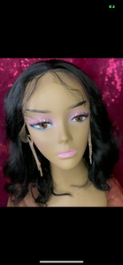 "16"" 9A Tasty Lace Frontal Curly Wig"