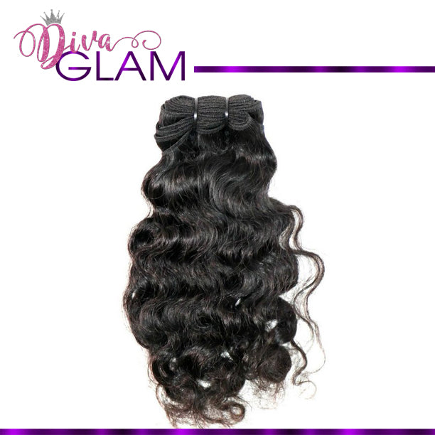 Diva Glam Raw Indian Natural Curly