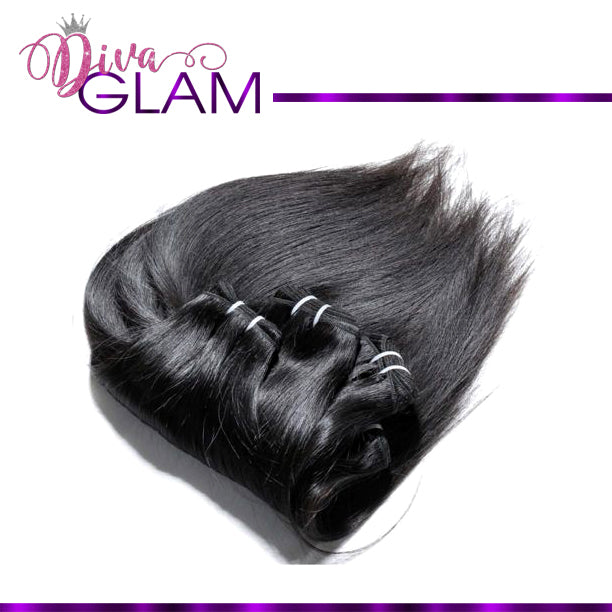 Diva Glam Raw Indian Straight Extensions