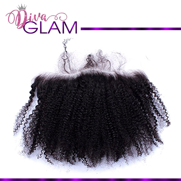 Diva Glam Afro Kinky Curly Frontal