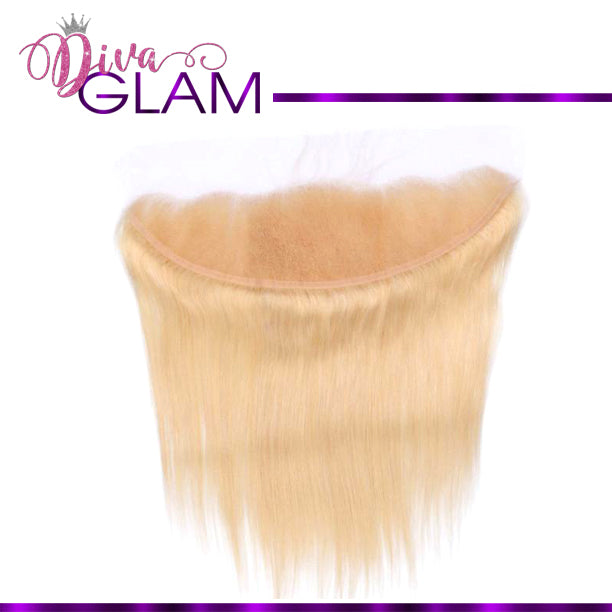 Diva Glam Blonde 613 Silky Straight Frontal