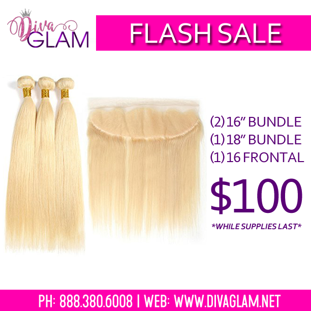 FLASH SALE: Blonde 613 (3) Bundle Deal w/ Frontal