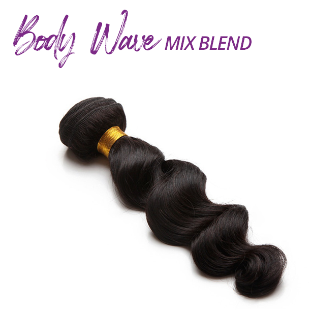Body Wave Mix Blend Bundles