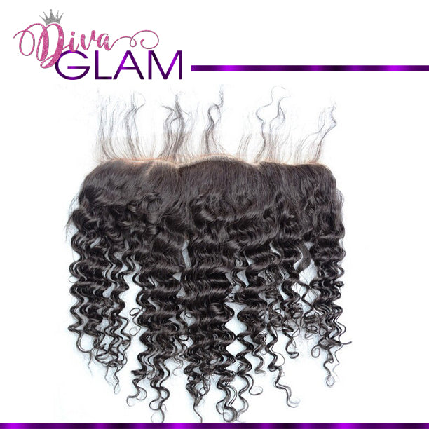 Diva Glam Bohemian Curly Frontal
