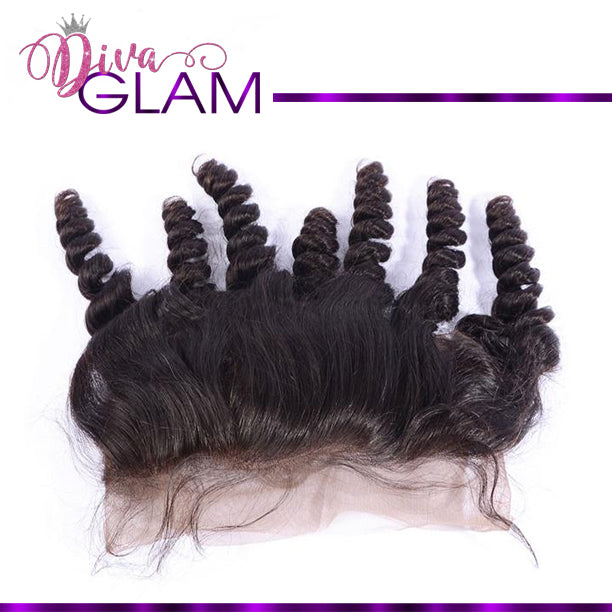 Diva Glam Bouncy Curly Frontal