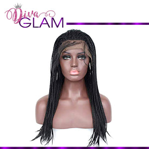Diva Glam Poetic Justice Braided Synthetic Wig