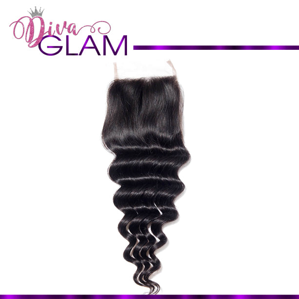 Diva Glam Deep Wave Closure