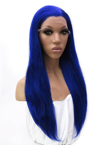 Diva Glam Electric Blue Lace Front Wig