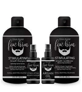 Diva Glam For Him Stimulating Hair Growth Kit