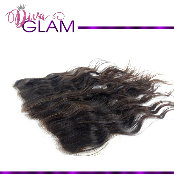 Diva Glam Raw Indian Wavy Frontal