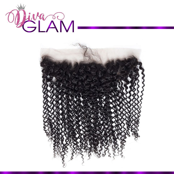 Diva Glam Kinky Curly Frontal