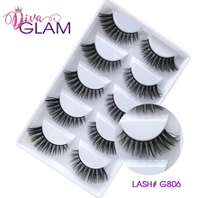 Load image into Gallery viewer, 3D Mink Natural Lashes: 5 Pairs G806
