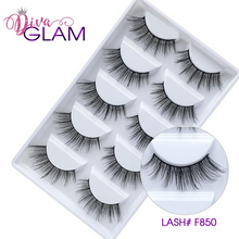 Load image into Gallery viewer, 3D Mink Natural Lashes: 5 Pairs F850