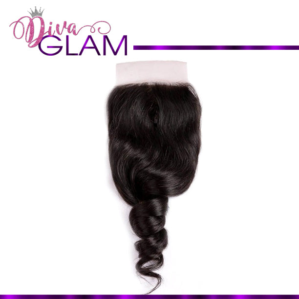 Diva Glam Loose Wave Closure