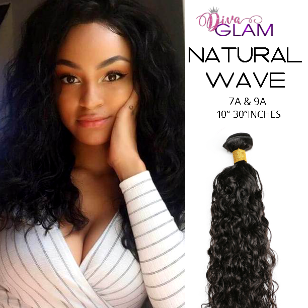 Diva Glam Natural Wave Virgin Hair Extensions