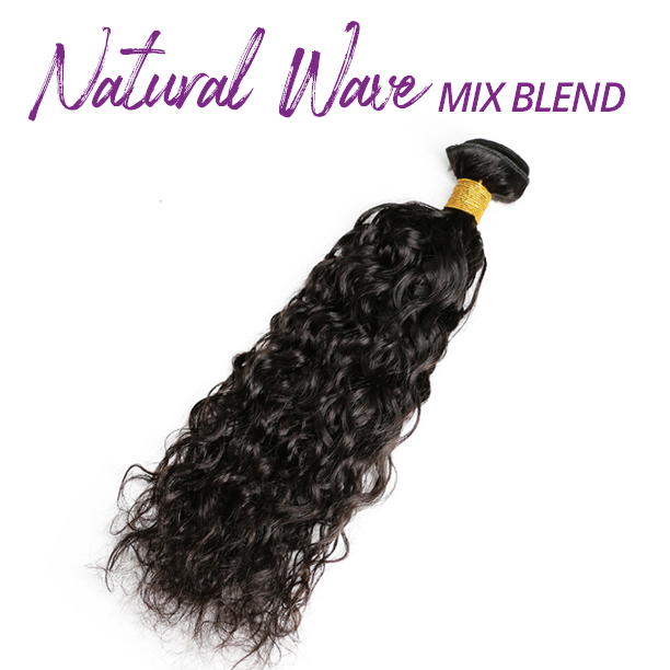 Natural Wave Mix Blend Bundles