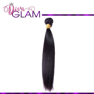 Diva Glam Silky Straight Hair Extensions