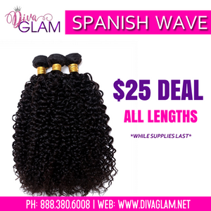 $25 Sale: Spanish Wave