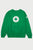 White Logo Crewneck - Green
