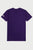 White Logo T-Shirt - Purple