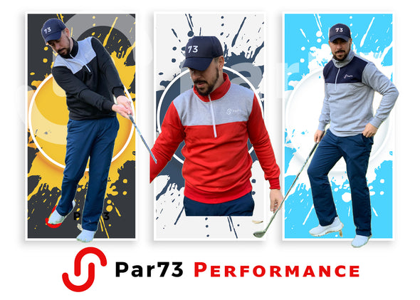 Par73 Performance 1/4 zip sweater