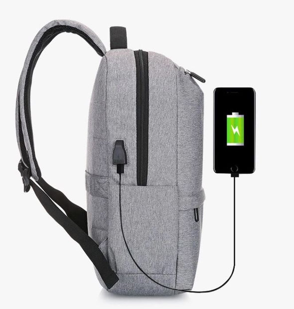 Par73 Apparel Cassidy Waterproof Durable USB Charging Backpack