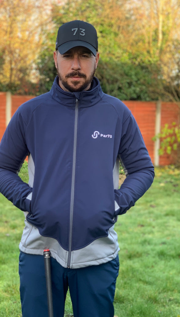 Par73 HydraPar Waterproof Golf Jacket